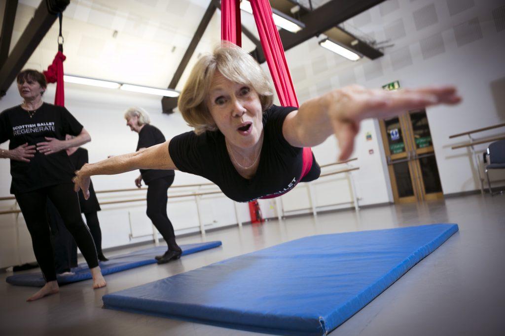 All or Nothing Aerial Dance & Scottish Ballet Regenerate - Luminate Festival 2014