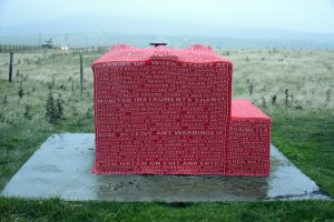 Recount - site-specific artwork by Roxane Permar and Susan Timmin