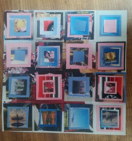 A collage by Anne-Marie Quinn, Luminate@Home