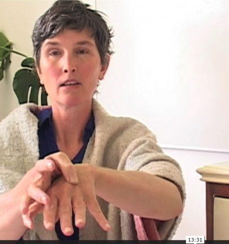 A screenshot from Hand Jive and Hand Massage, LuinateAtHome